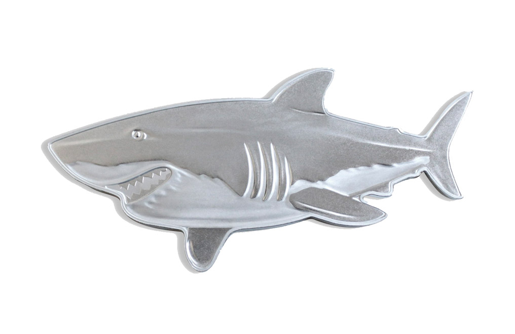 Buy 1 oz Silver Coin .9999 - Great White Shark, image 0