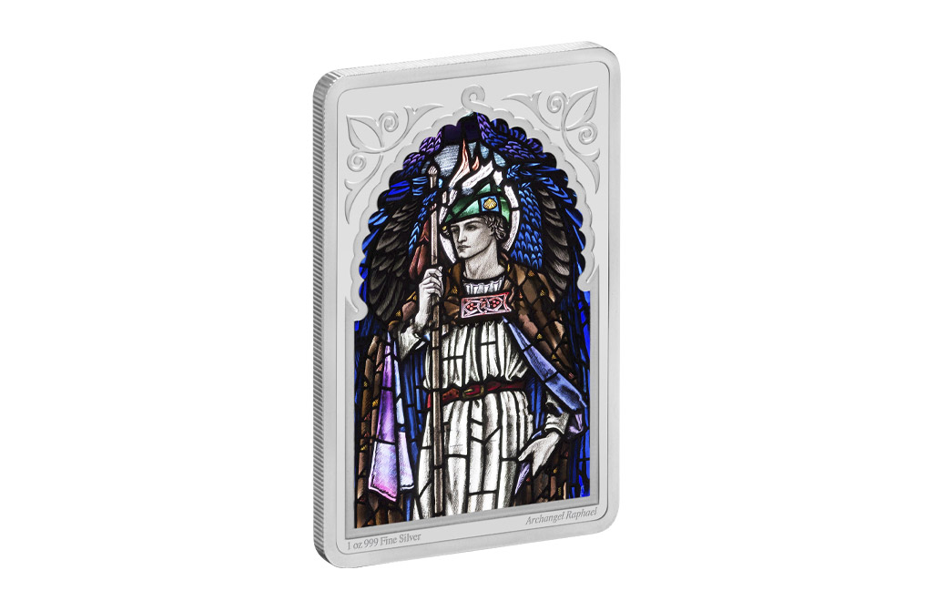 Buy 1 oz Silver Coin - Archangels - Raphael (2020), image 2