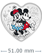 1 oz Silver Coin - Disney Love - Ultimate Couple (2021)