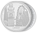 Buy 1 oz Silver Coin Great Cities- London .999, image 2
