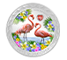 Buy 1 oz Silver Coin - Love is Precious- Flamingos (2021), image 0