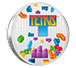 Buy 1 oz Silver Coin .999 - Tetris 35th Anniversary .999, image 2