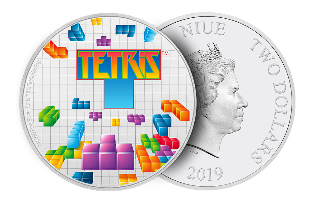 Buy 1 oz Silver Coin .999 - Tetris 35th Anniversary .999, image 4