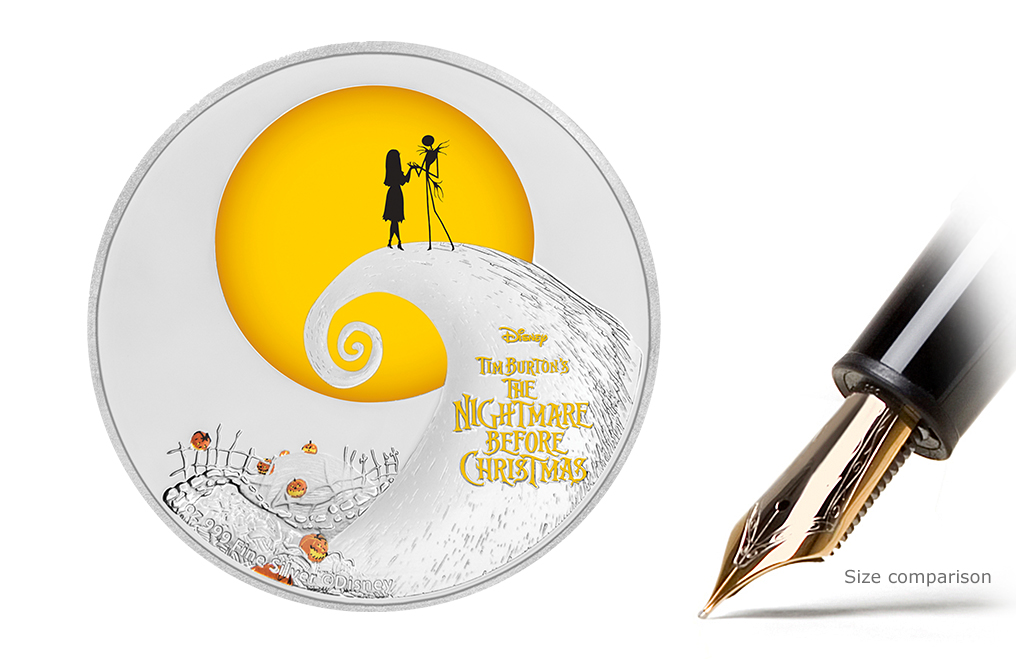 Buy 1 oz Silver Coin-The Nightmare Before Christmas .999, image 0