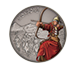 1 oz Silver Coin Warriors of History - Mongols .999, image 0