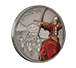 1 oz Silver Coin Warriors of History - Mongols .999, image 5