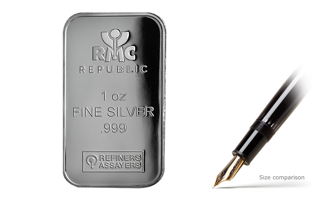 Buy 1 oz RMC Silver Bars, image 0