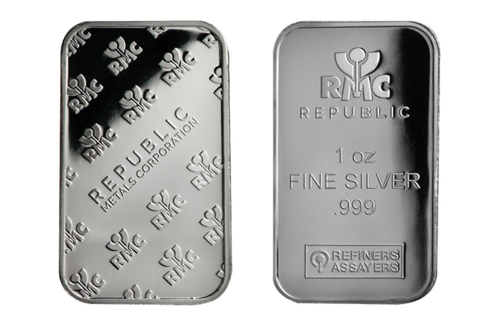 Buy 1 oz RMC Silver Bars, image 2