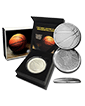1 oz Silver Round .999 - 3D Domed Basketball