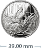 1 oz Silver Round .999 - Anne Stokes - Fierce Loyalty