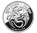Buy 1 oz Silver Round .999 - Anne Stokes - Skull Embrace, image 1