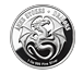 Buy 1 oz Silver Round .999 - Anne Stokes - Water Dragon, image 1