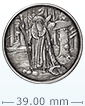 1 oz Silver Round .999- Celtic Lore- Merlin (Antique Finish)