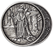 Buy 1 oz Silver Round .999-Celtic- Merlin (Antique), image 2
