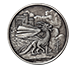 Buy 1 oz Silver Round .999-Celtic- Welsh Dragon (Antique), image 0