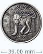 1 oz Silver Round .999 - Hellhound (Antique Finish)