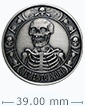 1 oz Silver Round .999 - Memento Mori (Antique Finish)