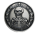 Buy 1 oz Silver Round .999- Memento Mori (Antique), image 0