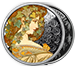 Buy 1 oz Silver Round .999 - Mucha - Ivy (Colorized), image 2