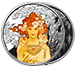 Buy 1 oz Silver Round .999 -Mucha -Rose (Colorized), image 2