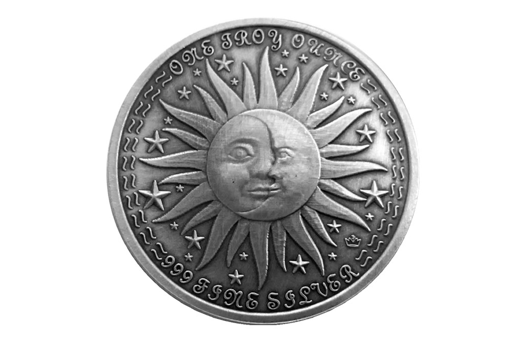 Buy 1 oz Silver Round .999 – Zodiac – Aquarius, image 1