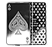 Buy 10 oz Silver Bar Set - 4 Aces + Joker Girl, image 2