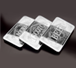 10 oz Silver Bar Three Piece Set– Bourbon, Scotch, Beer, image 0