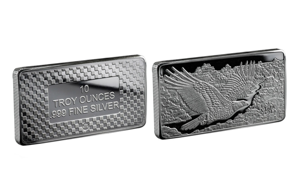 Sell 10 oz Silver Eagle Bars, image 2