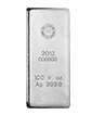100 oz Silver Royal Canadian Mint Bar .9999 (Previous Design)