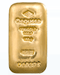 100 g Gold Degussa Cast Bar