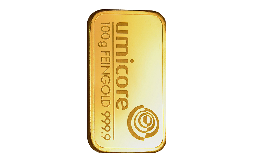 Buy 100 gram Gold Bars, image 1
