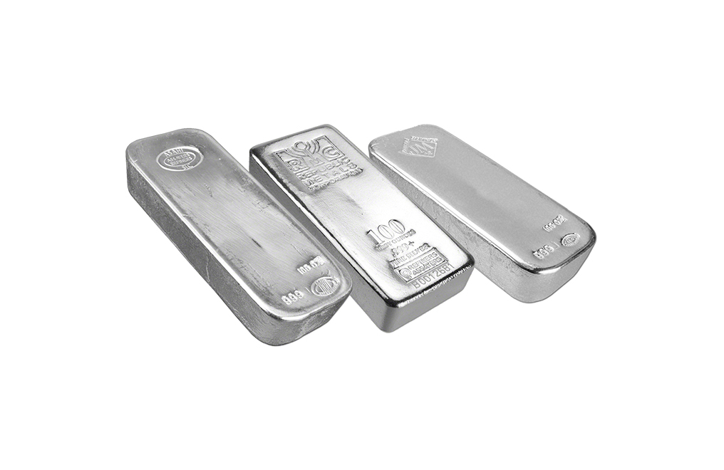 Buy 100 oz Silver Bars, image 0