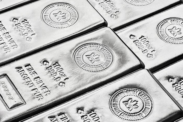 Buy Canadian 100 oz Silver Bars, image 3