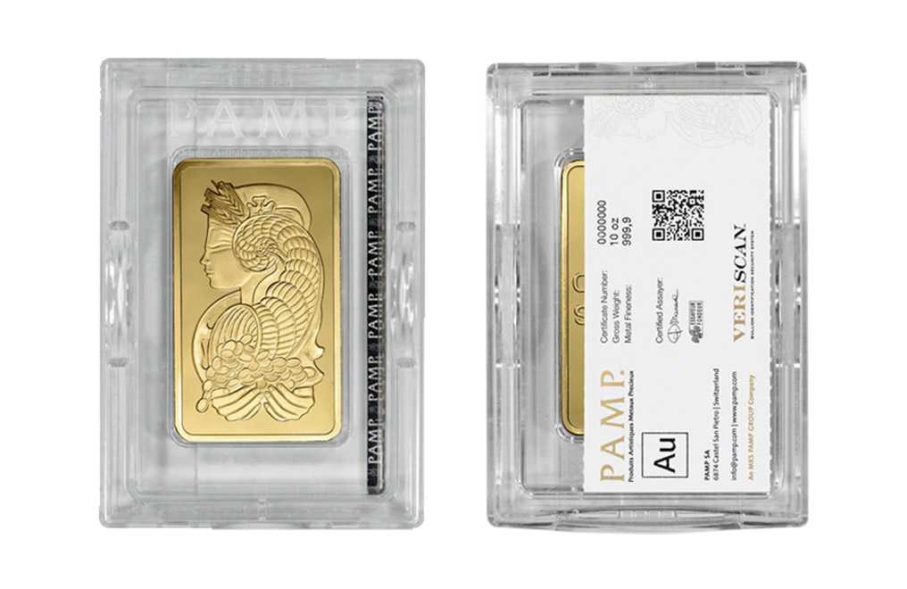 Sell 10 Oz Gold Bars Pamp Suisse Fortuna Sell Gold Bar
