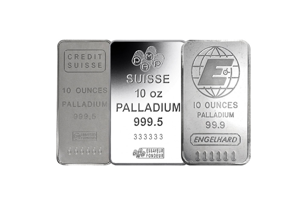 Buy 10 Oz Palladium Bar 0 999 Palladium Bars Kitco