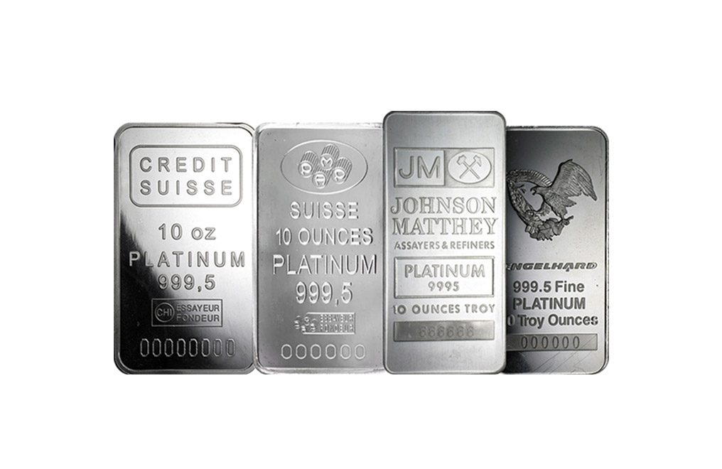Buy 10 oz Platinum Bars, image 0