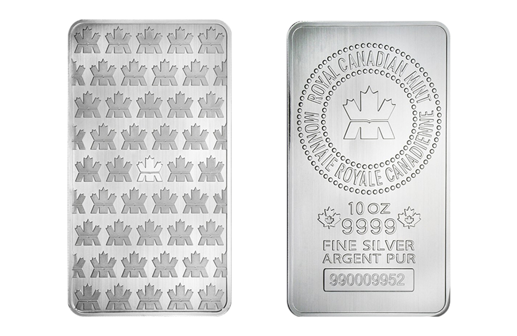 Sell 10 oz Canadian Silver Bars, image 2