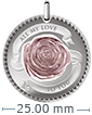 12 g Silver Coin Pendant .999 - All My Love to You