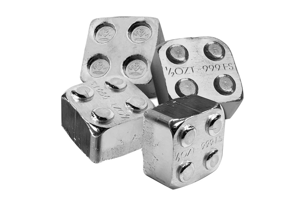 Buy 12 oz Building Block Bars Accessory Set .999, image 2