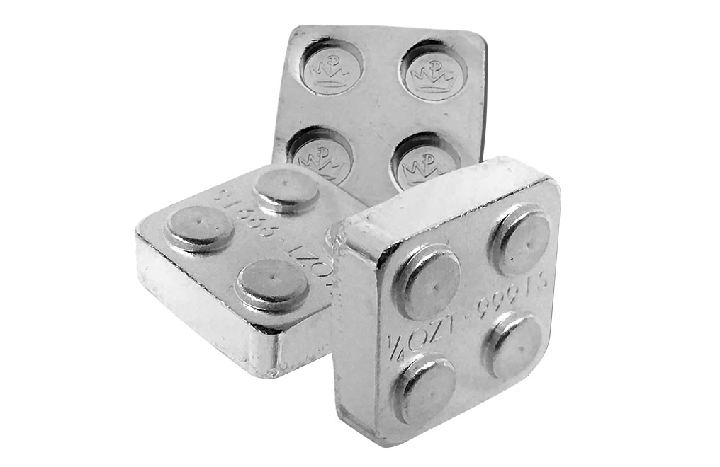Buy 12 oz Building Block Bars Accessory Set .999, image 3