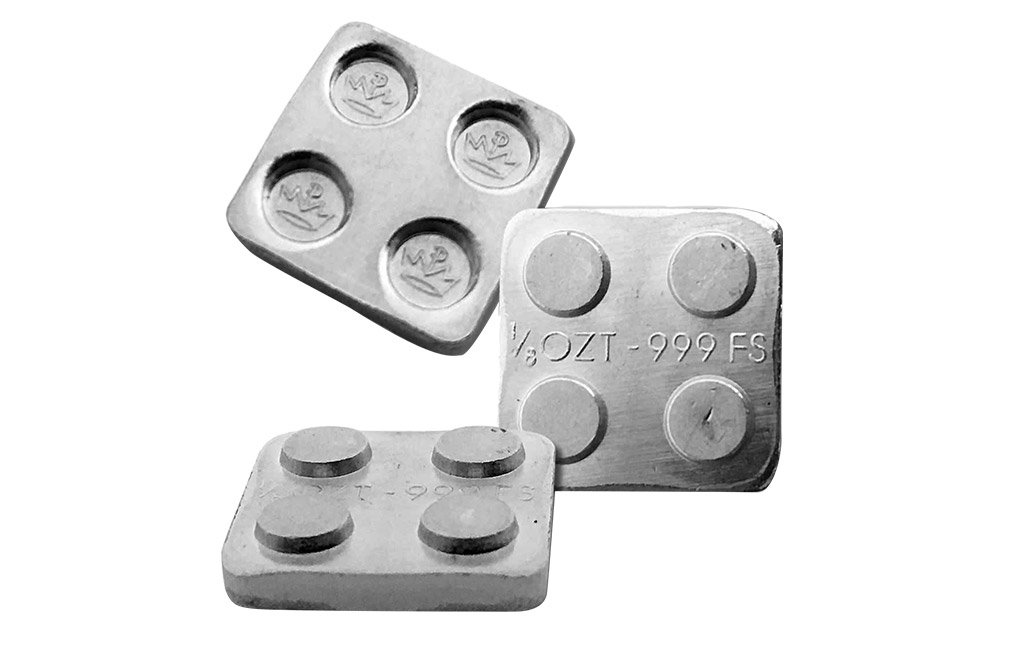 Buy 12 oz Building Block Bars Accessory Set .999, image 5