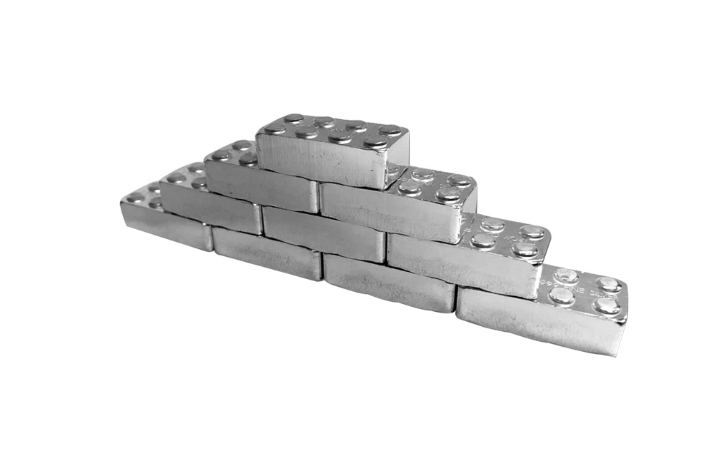 Buy 12 oz Building Block Bars Set .999 (12 x 1 oz), image 3