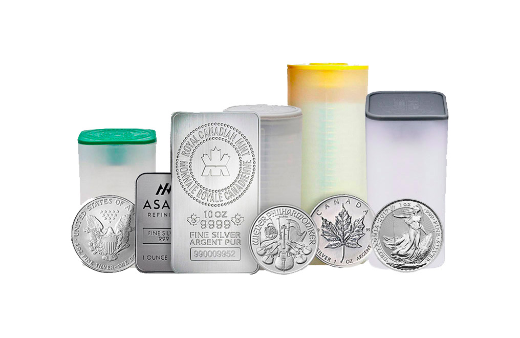 Buy 125 oz Silver Stacker Bullion Bundle, image 0