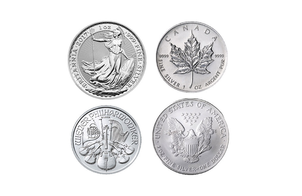 Buy 125 oz Silver Stacker Bullion Bundle, image 1