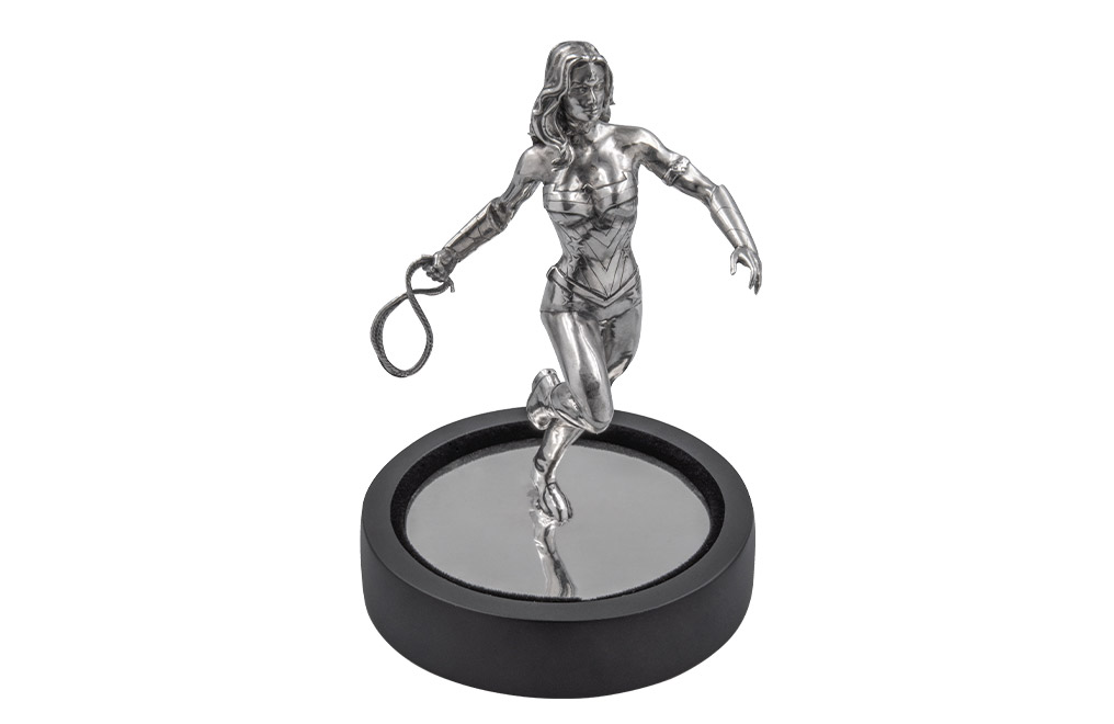 Buy 135 g Sterling Silver Wonder Woman™ Miniature, image 0