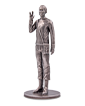 150 g Silver Commander Spock™ Miniature