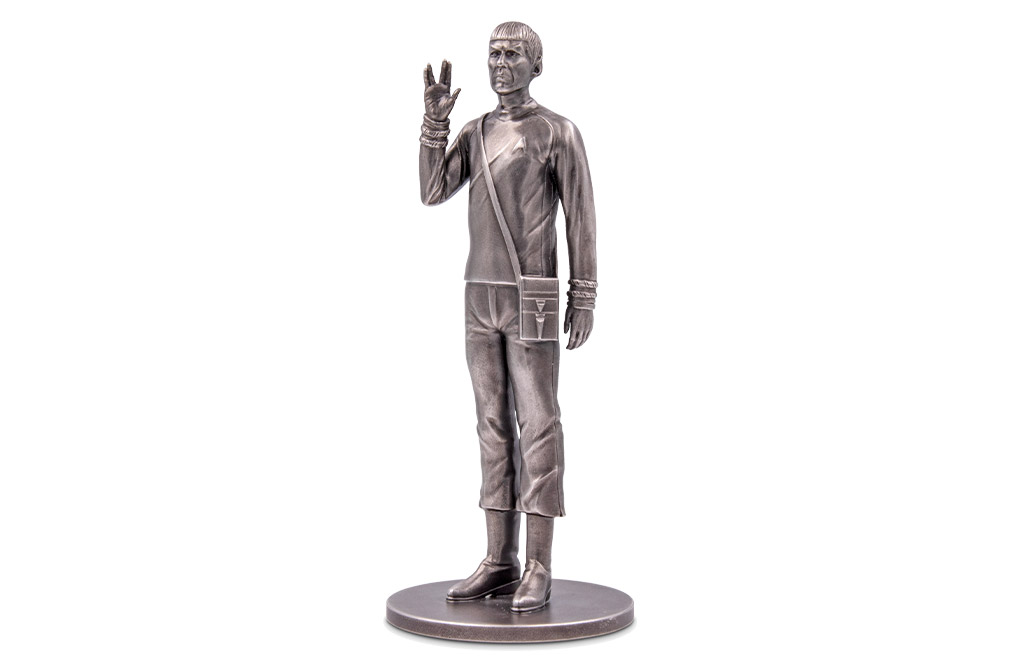 Buy 150 g Silver Commander Spock™ Miniature, image 0