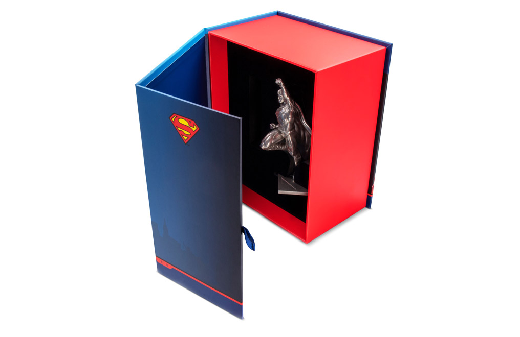 Buy 150 g Silver Miniature .999 - Superman 80th Anniversary, image 3