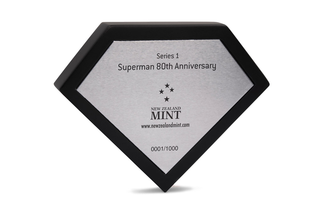 Buy 150 g Silver Miniature .999 - Superman 80th Anniversary, image 5