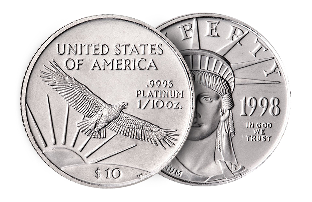 Buy 1/10 oz American Platinum Eagle Coins, image 2